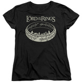 Womans: Lord Of The Rings- Ring Journey T-Shirt
