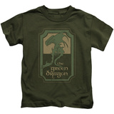 Juvenile: Lord Of The Rings- Green Dragon Tavern T-shirts
