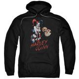 Hoodie: Harley Quinn- Hammer Time Pullover Hoodie