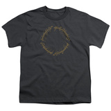 Youth: Lord Of The Rings- One Ring Inscription T-Shirt