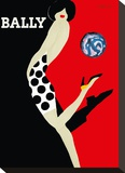 Bally Kick - Bally Shoes Canvastaulu tekijänä Bernard Villemot