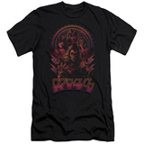 Kiss - Comic Style Slim Fit T-shirts