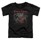 Toddler: Lord Of The Rings- Mount Doom Corruption Shirts