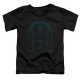 Toddler: Lord Of The Rings- Doors Of Durin Shirts