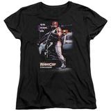 Womans: Robocop- Poster T-Shirt