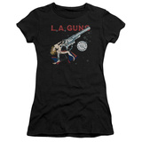 Juniors: La Guns- Cocked And Loaded Album Art T-shirts