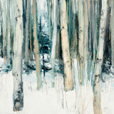 Winter Woods II Art by Julia Purinton