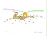 The Little Prince Dreaming (Le Reve) Stretched Canvas Print by Antoine de Saint-Exupéry
