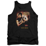 Tank Top: Delta Force 2- Colonel Scott Mccoy Tank Top
