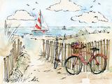 Coastal Catch VI Plakater af Anne Tavoletti