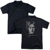 Polo: John Lennon- Sketch (Back Print) T-shirts