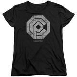 Womans: Robocop- Distressed Ocp Logo Shirts
