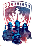 Guardians of the Galaxy: Vol. 2 - Groot, Drax, Star-Lord, Gamora, Rocket Raccoon Prints