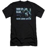 Robocop- Dead Or Alive Slim Fit Shirt