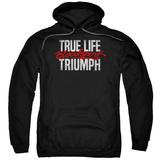 Hoodie: Bloodsport- True Life Triumph Pullover Hoodie
