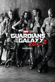 Guardians of the Galaxy: Vol. 2 - Gamora, Drax, the Milano, Star-Lord, Rocket Raccoon, Groot Pósters