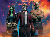 Guardians of the Galaxy: Vol. 2 - Gamora, Rocket Raccoon, Star-Lord, Groot, Drax Photo