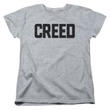 Womans: Creed- Cracked Logo T-Shirt
