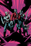 Guardians of the Galaxy: Vol. 2 - Drax, Groot, Star-Lord, Gamora, Rocket Raccoon Posters