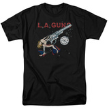 La Guns- Cocked And Loaded Album Art T-shirts