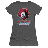 Juniors: Killer Klowns From Outer Space- Rough Clown T-shirts