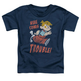 Toddler: Dennis The Menace- Here Comes Trouble Shirts