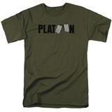 Platoon- Tag Logo T-shirts