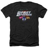 2 Fast 2 Furious - 2 Fast Logo T-Shirt