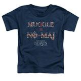 Toddler: Fantastic Beasts- Muggle = No Maj T-Shirt