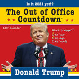 Donald Trump Out of Office Countdown - 2018 Boxed Calendar Calendars