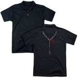 Polo: American Horror Story- Pain Necklace (Back Print) T-shirts