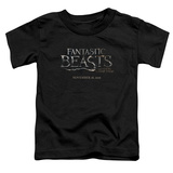 Toddler: Fantastic Beasts- Movie Logo T-Shirt