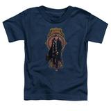 Toddler: Fantastic Beasts- Newt Scamander Badge T-Shirt