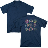 Polo: American Horror Story- Cabinet Of Curiosities (Back Print) T-shirts