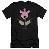 American Horror Story- Piggy Insignia Slim Fit T-Shirt