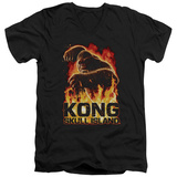 Kong: Skull Island- Out Of The Fire V-Neck T-shirts