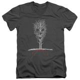 American Horror Story- Scary Tree V-Neck T-shirts