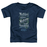 Toddler: Fantastic Beasts- Nothing In Nature Is Unnatural T-shirts