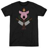 American Horror Story- Piggy Insignia Ringer Shirt