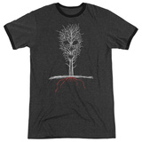 American Horror Story- Scary Tree Ringer T-shirts