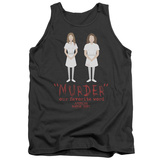 Tank Top: American Horror Story- Favorite Word Is Murder Tank Top