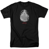 American Horror Story- Roanoke Badge T-shirts