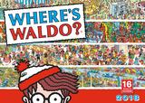 Wheres Waldo - 2018 Calendar Calendars