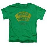 Toddler: Fantastic Beasts- Muggle Worthy Patch Shirt