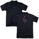 Polo: American Horror Story- Teeth Spiral (Back Print) T-Shirt