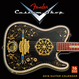 Fender Custom Shop  - 2018 Calendar カレンダー
