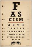 Facism Eye Chart Poster