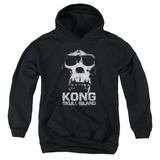 Youth Hoodie: Kong: Skull Island- Primal Skull Pullover Hoodie