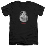 American Horror Story- Roanoke Badge V-Neck Shirts