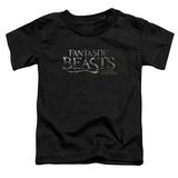 Toddler: Fantastic Beasts- Movie Logo Shirt